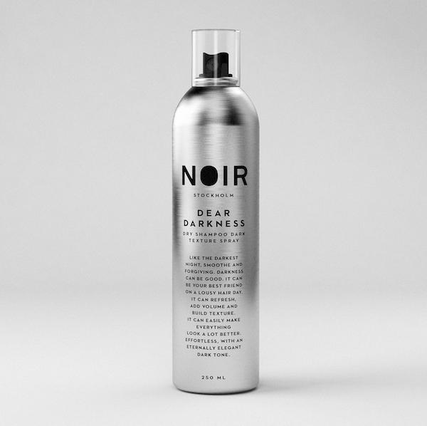 NOIR - Dear Darkness - Dry Shampoo Dark Texture Spray | Giesing Kappers